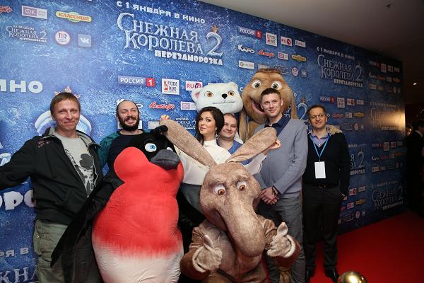 Премьера новогоднего мультфильма  Снежная королева 2: Перезаморозка