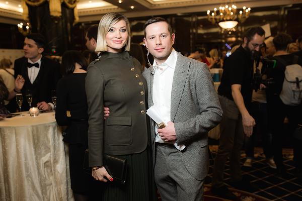 Ирина Йовович (WFC) и Андрей Шалахов (FashionTV)