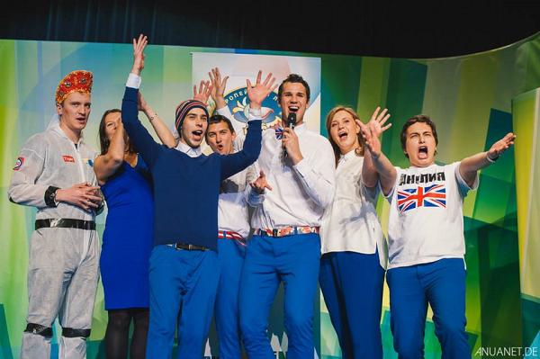 Международный финал КВН в Дюссельдорфе сезон 2014/15
