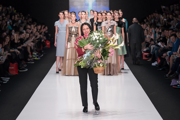 Юлия Далакян Неделя Моды в Москве 2015