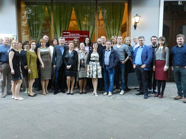 Встречи предпринимателей в Берлине