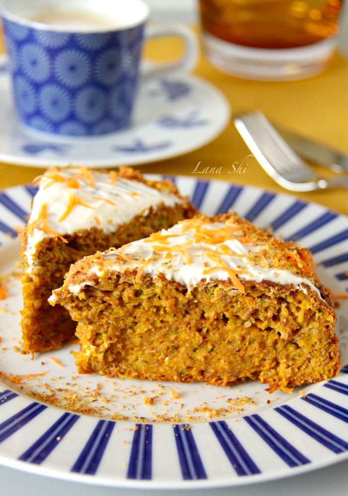 Морковный-пирог