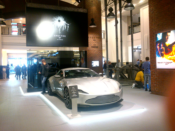 Премьера James Bond 007 Spectre в Берлине