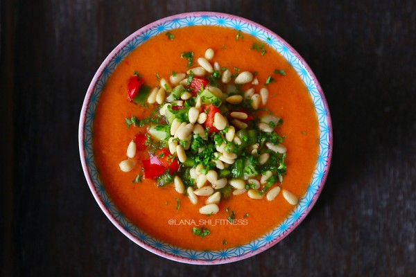 Детокс – рецепт суп гаспачо