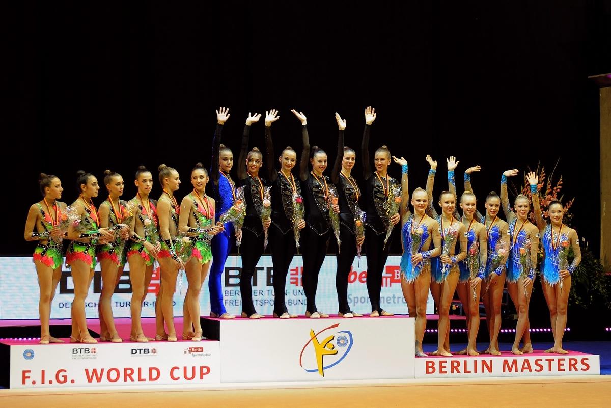 Кубок мира по художественной гимнастике в Берлине 2016 Фото