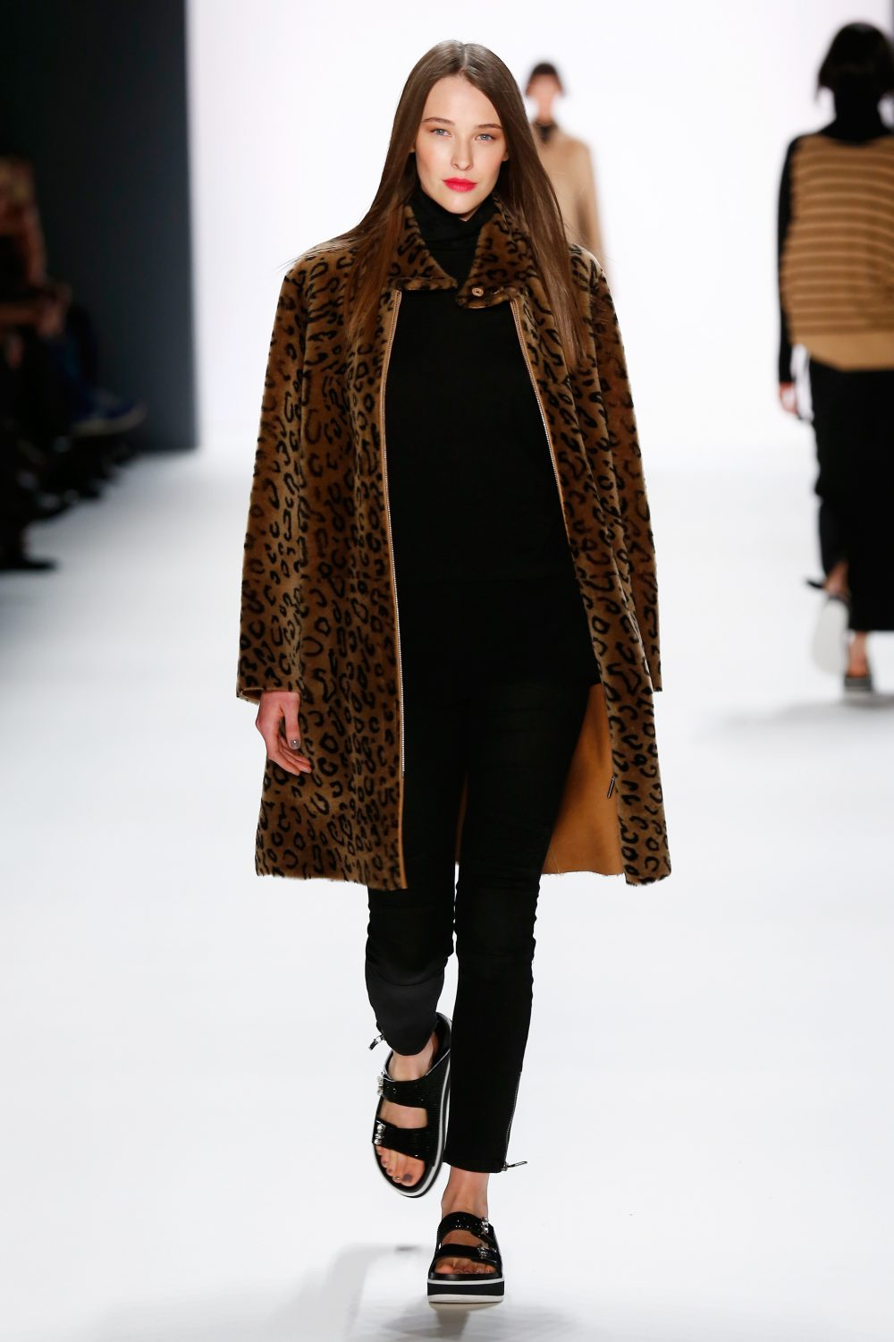 BERLIN, GERMANY - JANUARY Laurel show during the Mercedes-Benz Fashion Week Berlin Autumn/Winter 2016 (Photo by Frazer Harrison/Getty Images for Laurel)