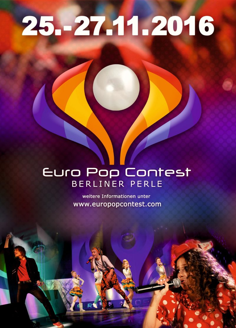 Euro Pop Contest Berliner Perle 2016